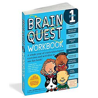 Brain Quest Grade 1 classeur [avec des autocollants]