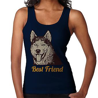Husky Dog Best Friend Women's Vest