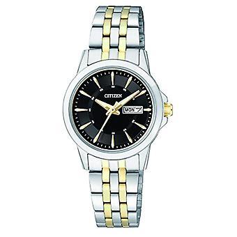 Citizen Womens rustfritt stål kvarts håndleddet watch-EQ0608-55EE