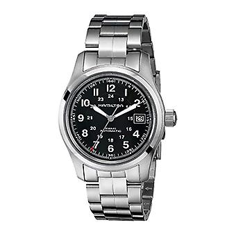 Hamilton Analog Automatic men's watch with stainless steel strap _ H70455133