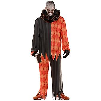 Evil Clown Halloween Adult Costume