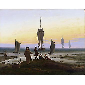 The Stages of Life,Caspar David Friedrich,50x40cm