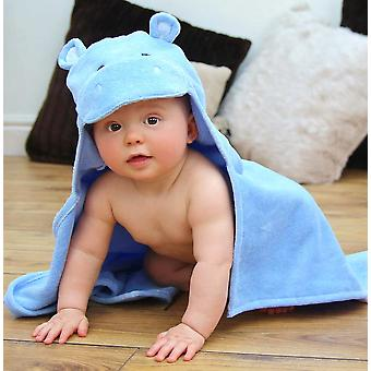 Happy Hippo baby towel