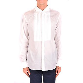 Burberry Ezbc001106 Men's White Cotton Shirt