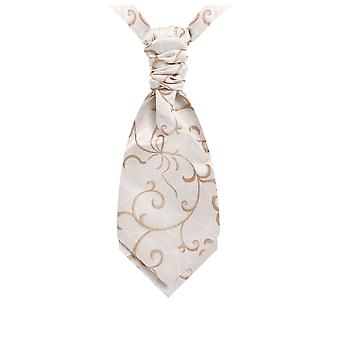 Boys Champagne Bow Polyester Jacquard Cravat