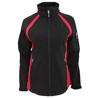 Finden & Hales Womens/Ladies 3-Layer Team Softshell Sports Jacket