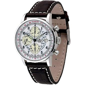 Zeno-horloge mens watch Telemeter Chrono limited edition 6069TVD-c2
