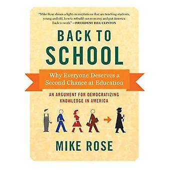 Back to School - Why Everyone Deserves a Second Chance at Education by