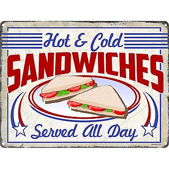 Grindstore Sandwiches Tin Sign