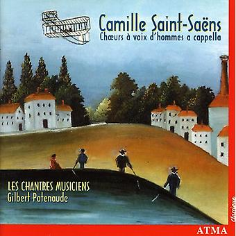 サン = サーンス-サン Sa Ns: Choeurs Voix D'Hommes アカペラ [CD] USA 輸入
