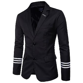 Allthemen Men's Blazer Cotton Slim Fit Business Casual Suit Jacket