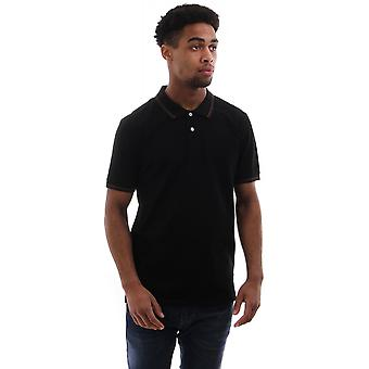 PS Paul Smith Ss Reg Fit Polo With Contrast Tipping