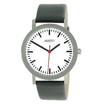Aristo reloj acero inoxidable estación 3 H 03