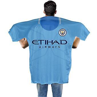 Manchester City FC Kit Shaped Banner/Body Flag