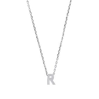 Jewelco London Ladies Rhodium Plaqué Sterling Silver Letter R Initial Pendant Necklace Jewelco London Ladies Rhodium Plaqué Sterling Silver Letter R Initial Pendant Necklace Jewelco London Ladies Rhodium Plaqué Sterling Silver Letter R Initial Pendant Necklace Jewelco London Ladies Rho