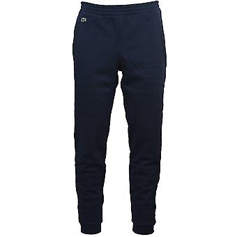 Lacoste Navy Logo Cuffed Jog Pant