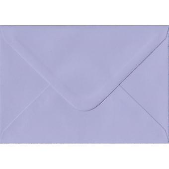 Lilac Gummed Gift/Place Card Coloured Purple Envelopes. 100gsm FSC Sustainable Paper. 70mm x 110mm. Banker Style Envelope.