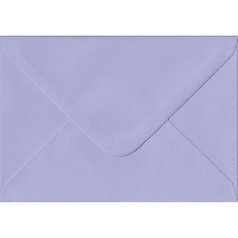 Lilas gommé cadeau/Place carte couleur mauve enveloppes. 100gsm FSC papier durable. 70 mm x 110 mm. banquier Style enveloppe.