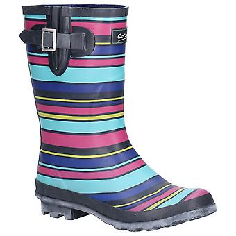 Cotswold Womens Paxford Elasticated Mid Calf Wellington Boot