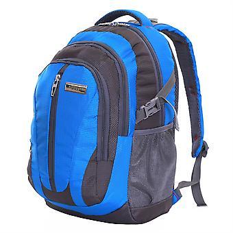 Karabar Foxford 30 Litre Tablet Backpack, Blue/Grey