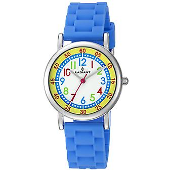 Radiant nouvelle pièce Quartz Analog Child Watch avec RA466603 Bracelet en silicone