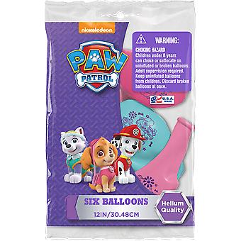 Party Supplies - Pioneer Latex Balloons 6 ct 12