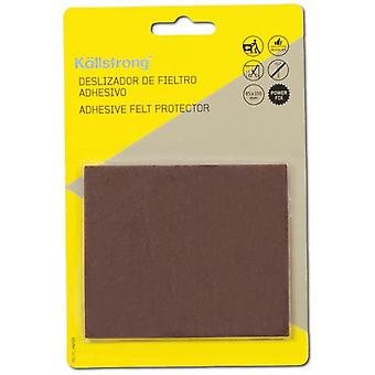Kallstrong Sliders 100 X 85 Mm. Adhesive F17001M (DIY , Hardware)