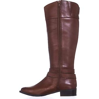 INC International Concepts Womens FrankiII Wide Calf Leather Closed Toe Knee High Fashion Boots