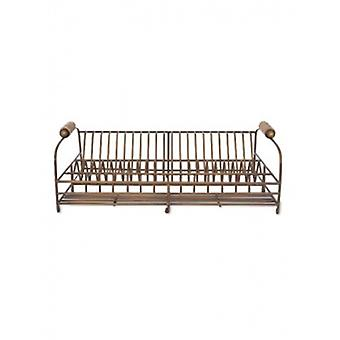 Garten Handel antike Messing Teller Rack