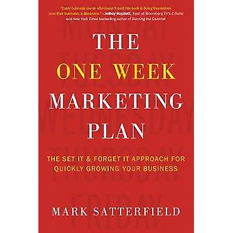 The One Week Marketing Plan - The Set It & Forget It Approach for
