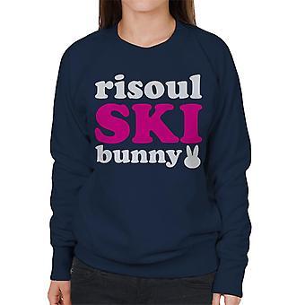 Risoul Ski Bunny Women's Sweatshirt