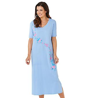 Chums Ladies Nighties Pack Of 2 Cotton Nightdresses