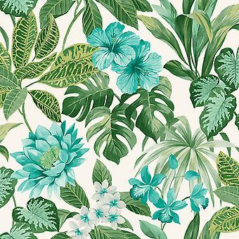 Tropica Rainforest Wallpaper Fine Decor