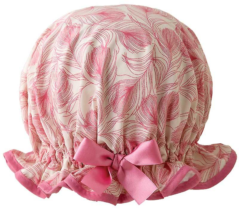 Pink Peacock Shower Cap
