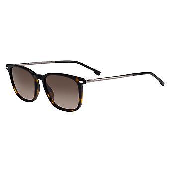 Hugo Boss 1020/S 086/HA Dark Havana/Brown Gradient Sunglasses