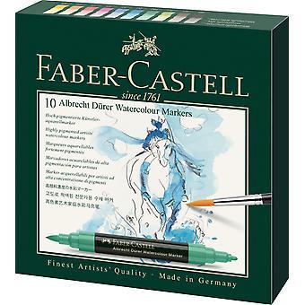 Faber-Castell Albrecht Dürer akvarell markörer uppsättning av 10