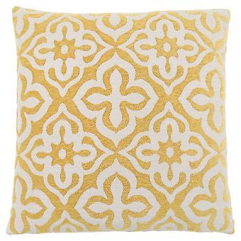 "18"" x 18"" Yellow, Motif Design - Pillow"