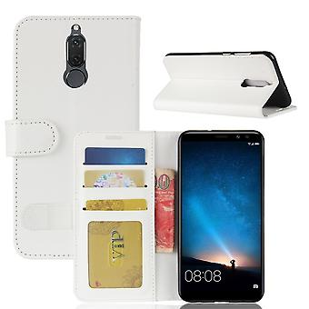 Fall für Huawei Mate 10 Lite white Wallet