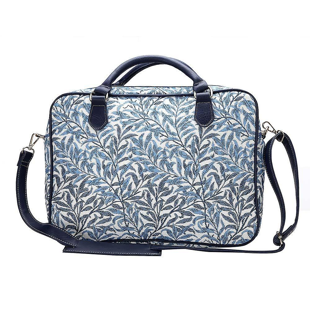 William morris - willow bough computer bag by signare tapestry / 15.6 inch / cpu-wiow