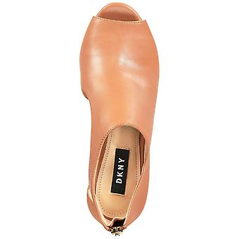 DKNY Womens Biza Suede Leather Open Toe Classic Pumps