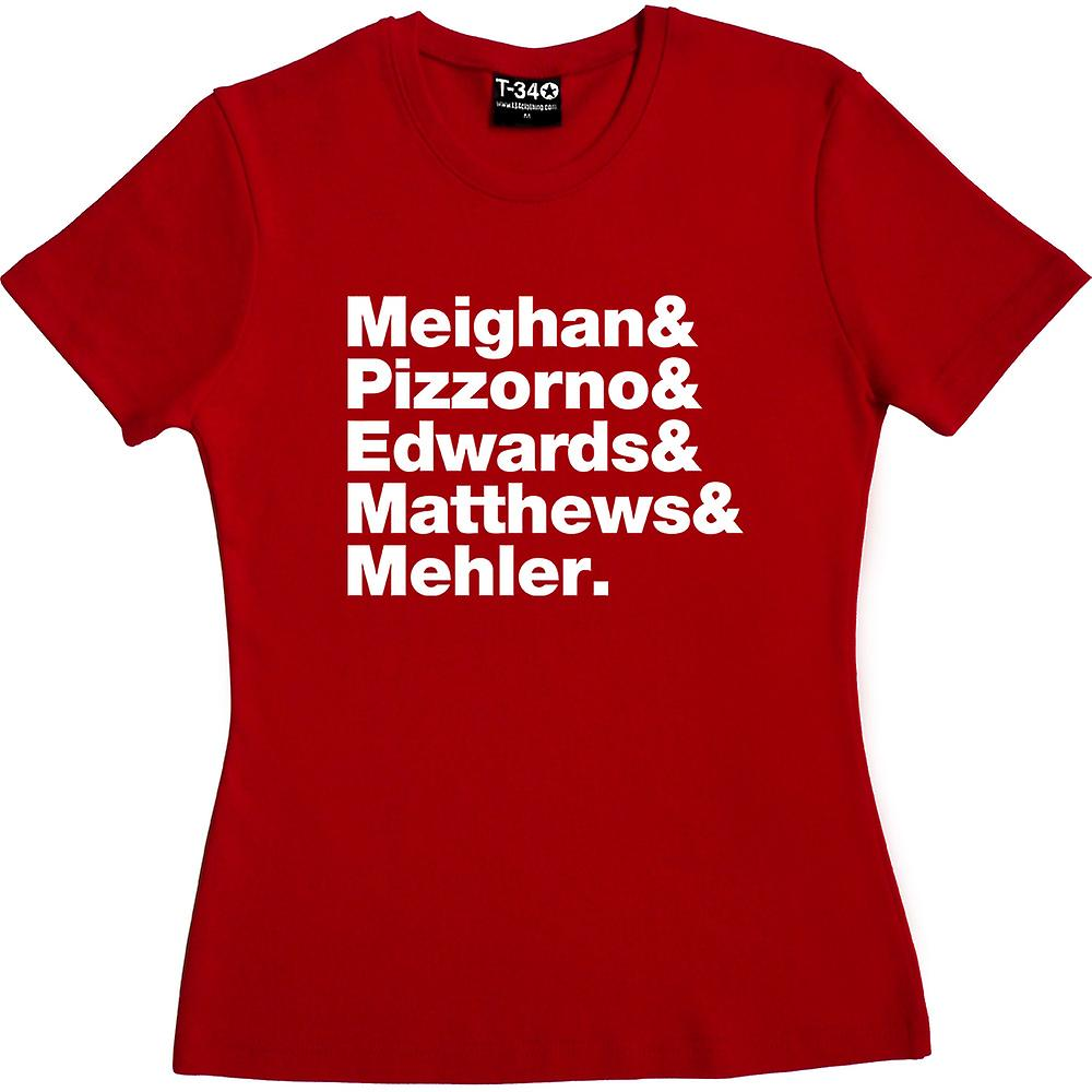 Kasabian Line-Up Red Women-apos;s T-Shirt