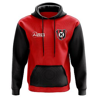 AC Milan Concept Club Football Hoody (Red)