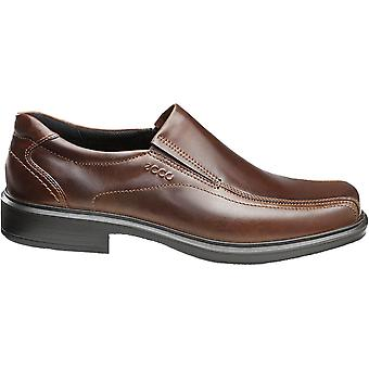 ECCO Mens Helsinki Leather Closed Toe Slip On Shoes
