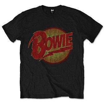Black David Bowie logo officiell T-shirt