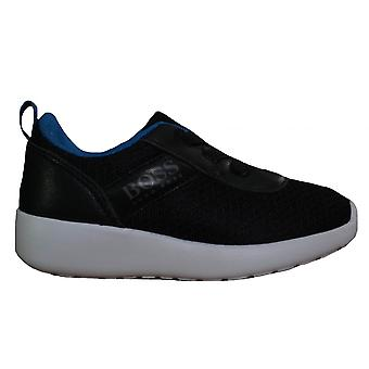 Hugo Boss Boys Hugo Boss Kids Black Trainers