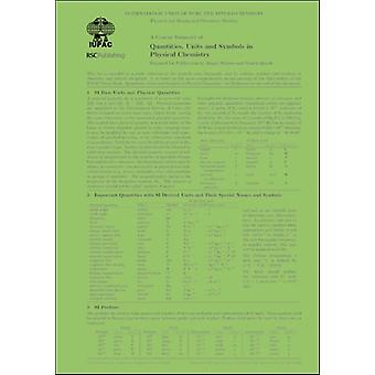 A Concise Summary of Quantities Units and Symbols in Physical Chemistry by Juergen Zurich University of Applied Sciences StohnerMartin Laboratorium fur Physikalische Chemie der ETH Zurich Quack