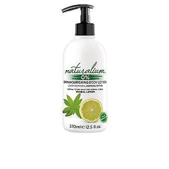 Naturalium växtbaserade Lemon Body Lotion 370 Ml Unisex