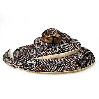 Serpent brun Hansa w / brun bébé (65cm)