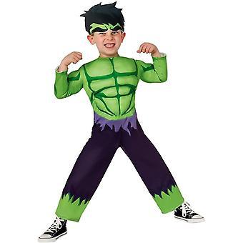 Toddler Boys Marvel Hulk Costume