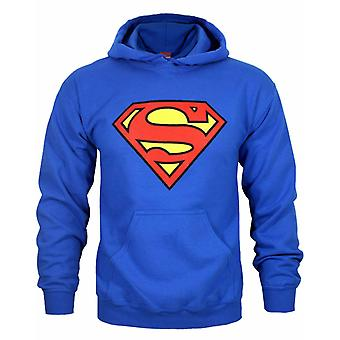 DC Comics Superman Shield Logo Män & apos; s Hoodie